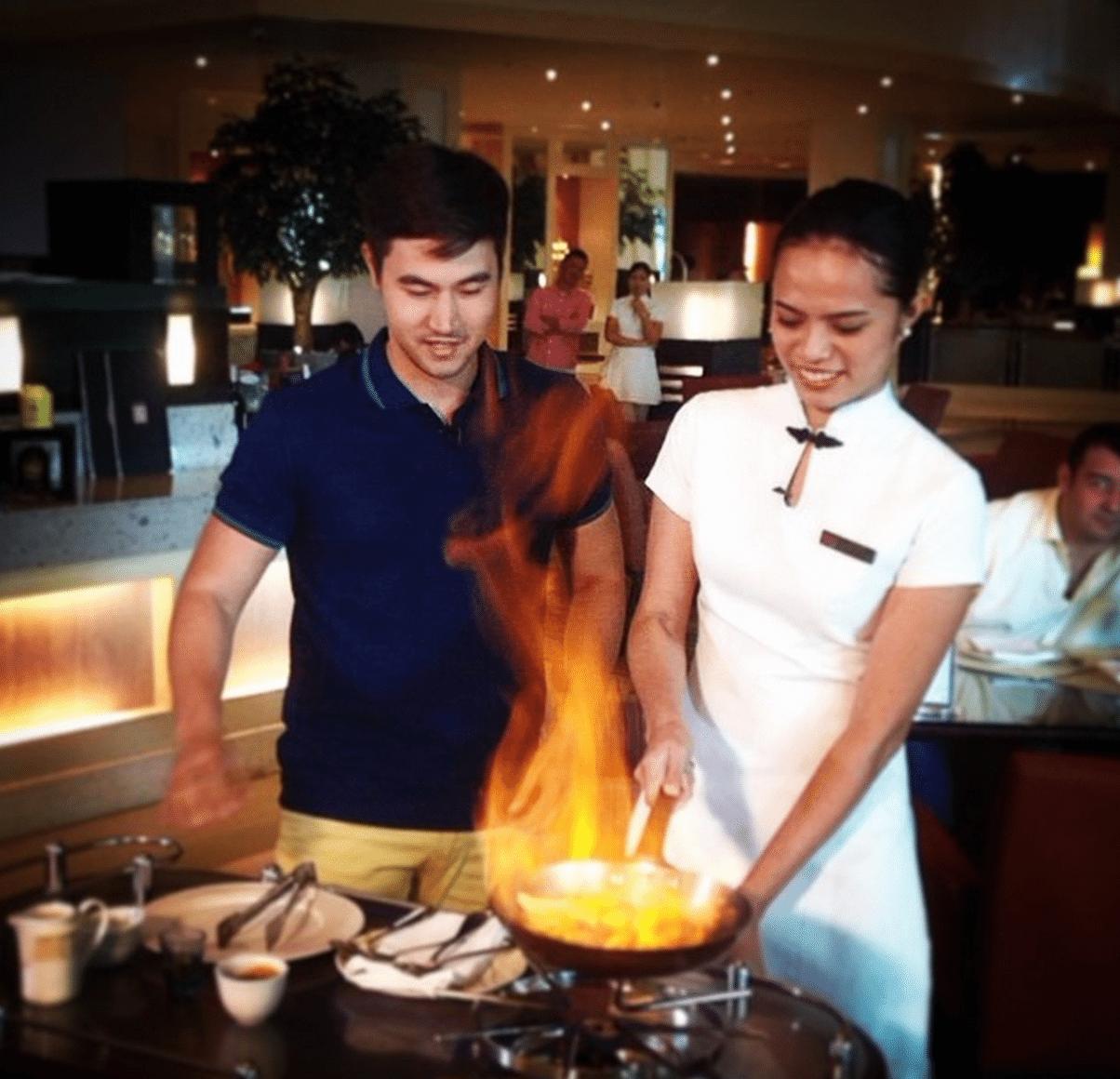 Steven Silva Chef Cooking