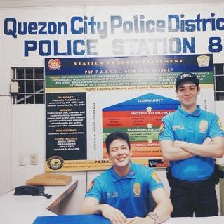 cute police in the philippines manila police attire