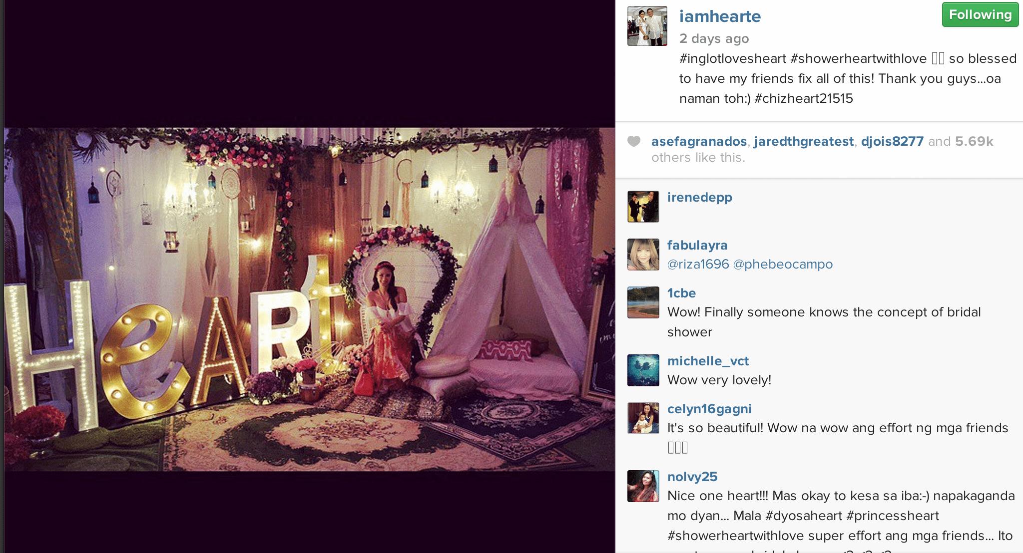 From @iamhearte's Instagram