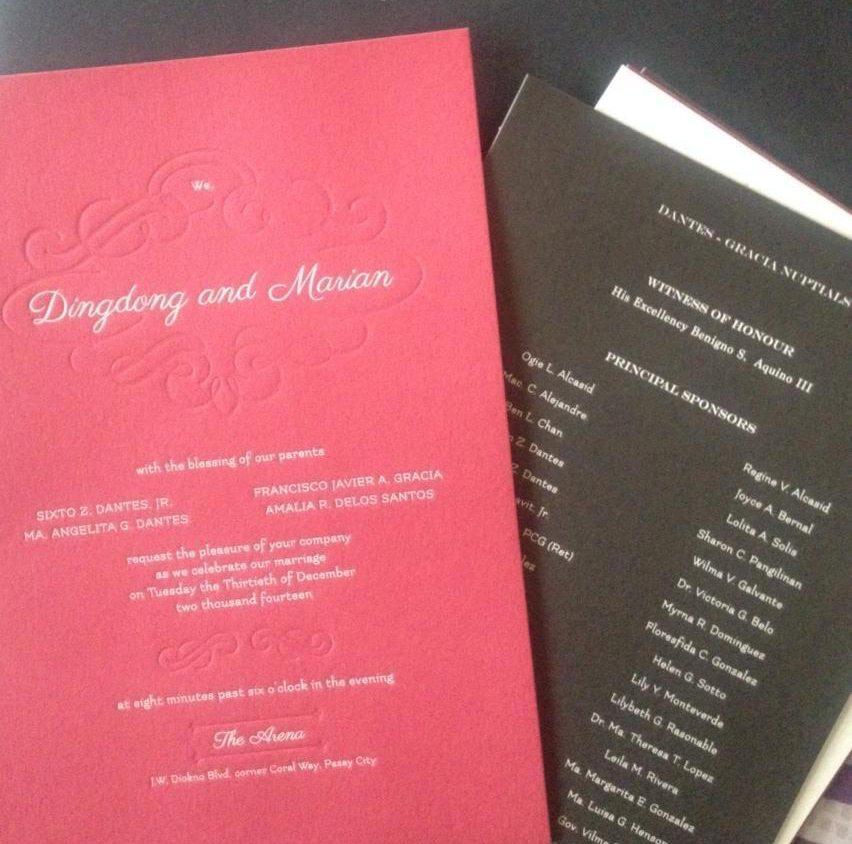 List Of Wedding Sponsors
