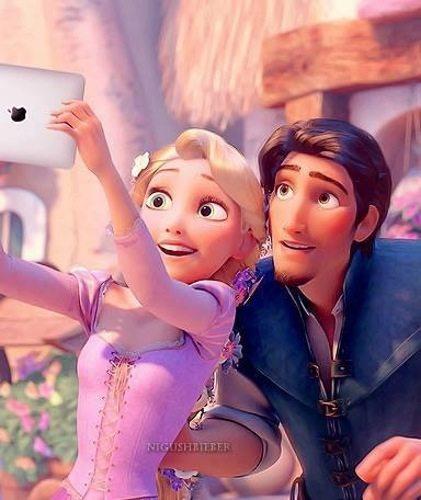 Rapunzel & Flynn Ryder. Photo Credit: Pinterest