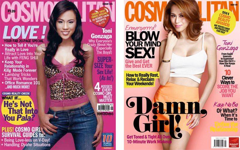 Toni Gonzaga Cosmopolitan cover