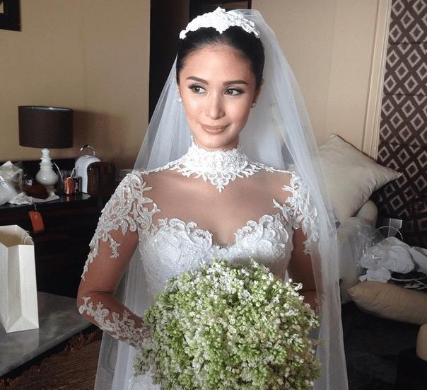 Heart Evangelista wedding gown Chiz Escudero wedding Balesin Grace Kelly Monaco 2