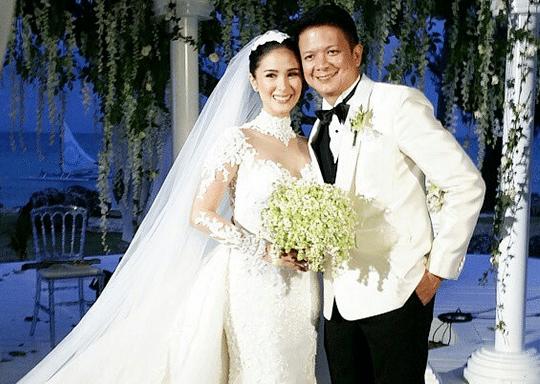 Heart Evangelista wedding gown Chiz Escudero wedding Balesin Grace Kelly Monaco 8