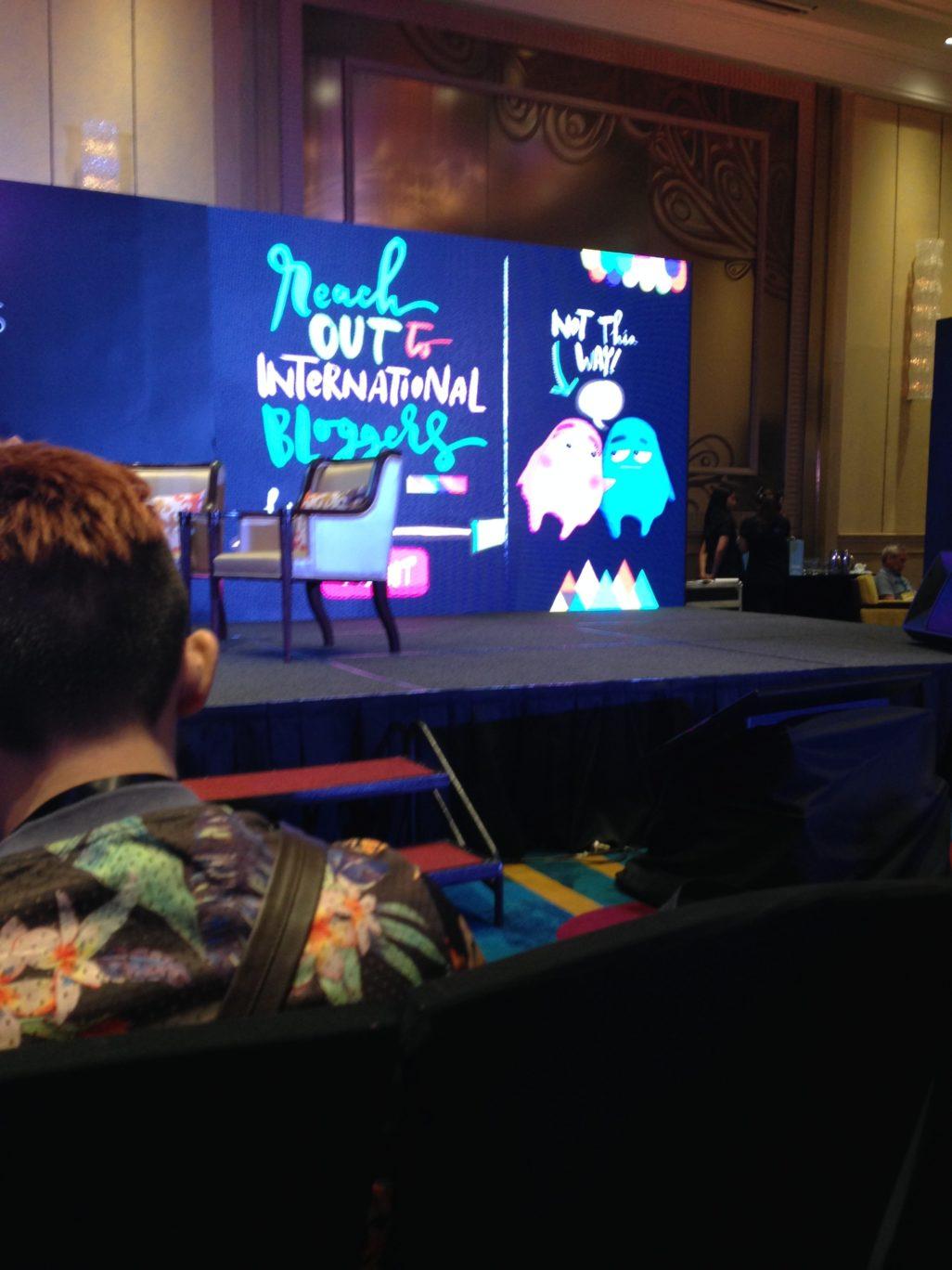I love Googly Gooeys so here's an extra photo of their presentation.