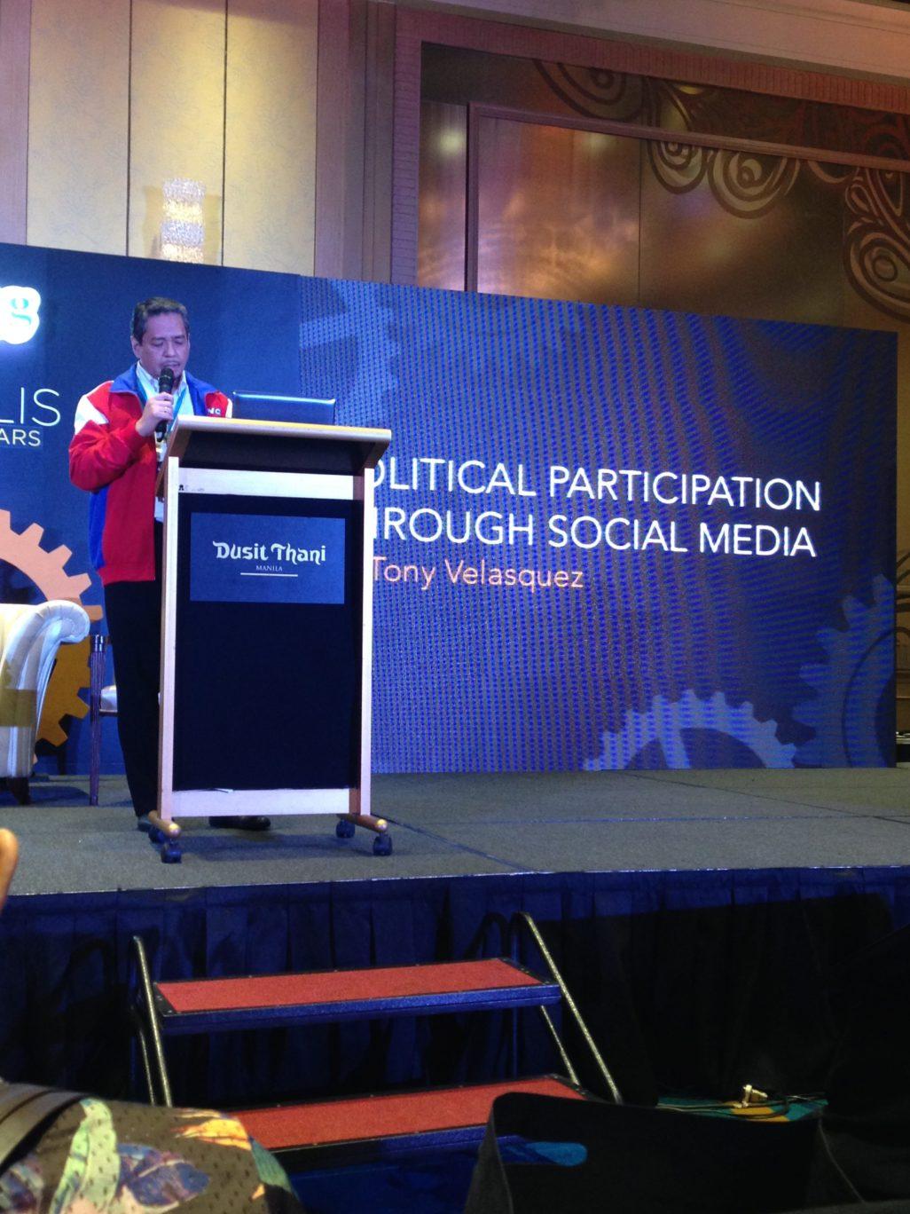 Tony Velasquez Blogopolis