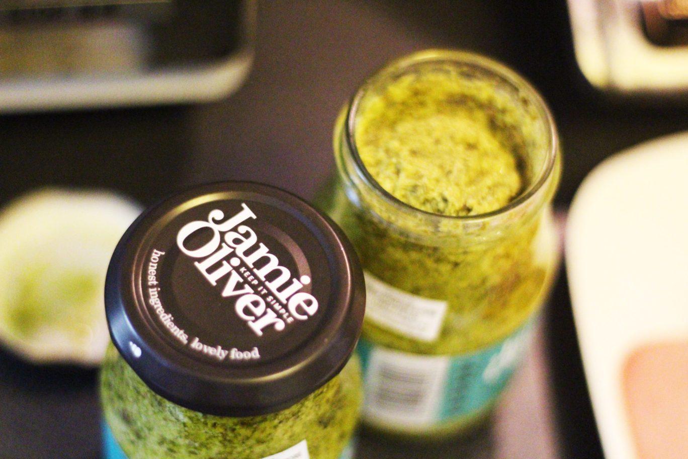 Jamie Oliver's Pesto Pasta Sauce