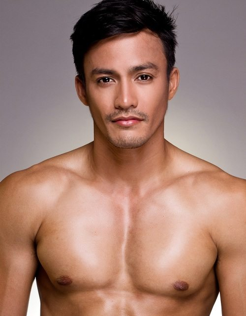 Mister International 2014 Philippines Neil Perez policeman
