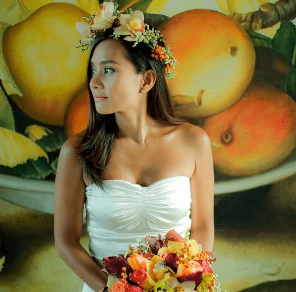 viral  kitchie nadal u0026 39 s php799 wedding gown