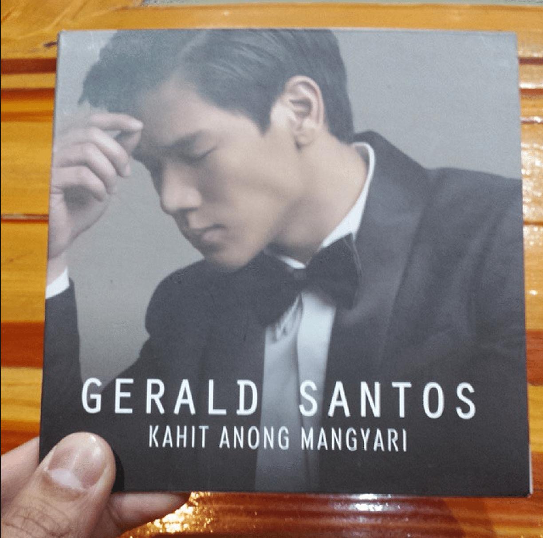 gerald santos singer album kahit anong mangyari