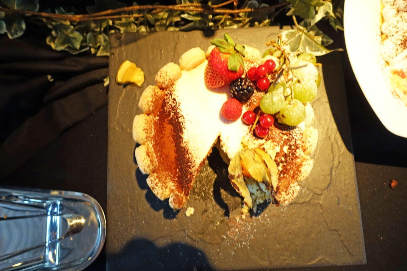 cake at alkaff mansion singapore dessert