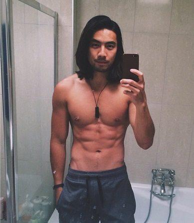 yoshi sudarso topless hunk instagram
