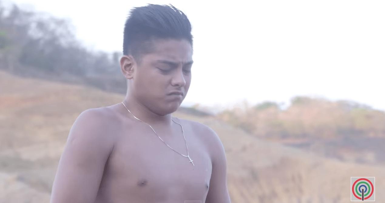 daniel padilla handsome shows body chest