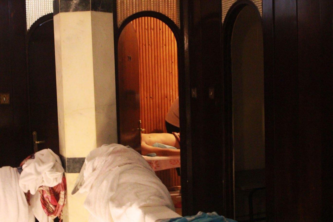 aga hamam second floor massage turkish bath