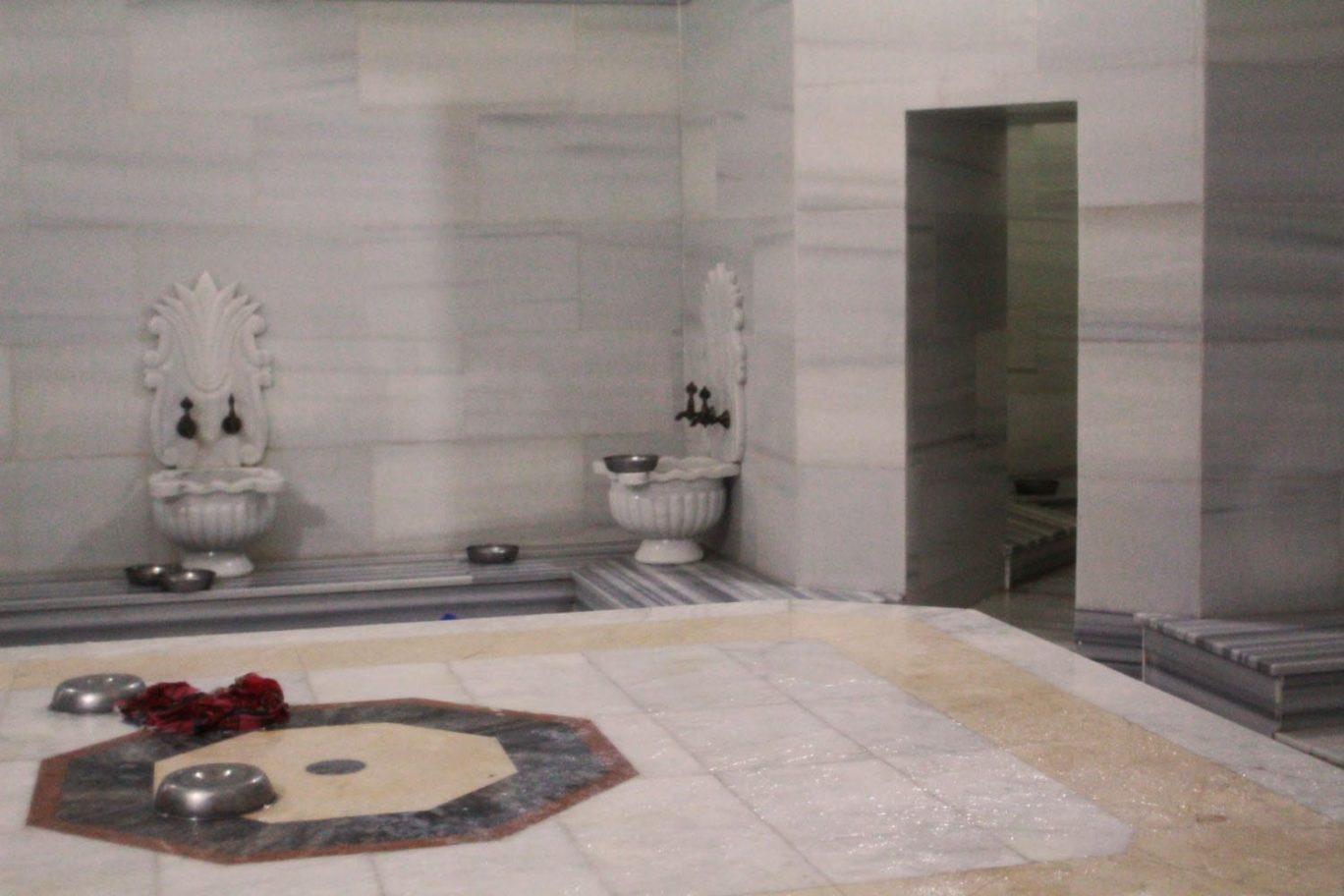 aga hamami inside indoor turkish bath in istanbul