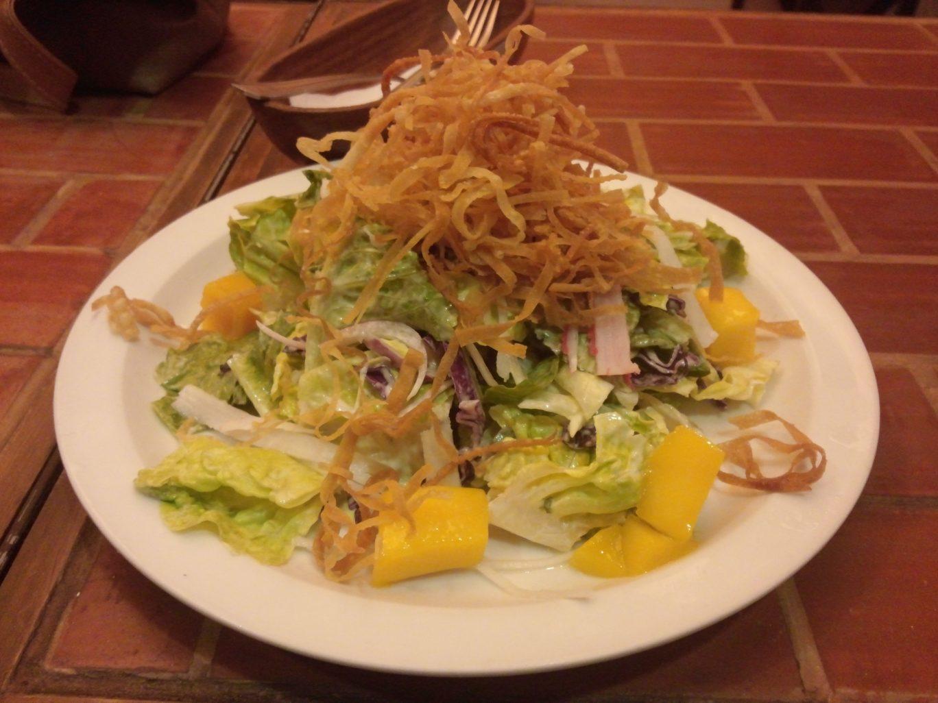 Brickfire Mango Crab Salad