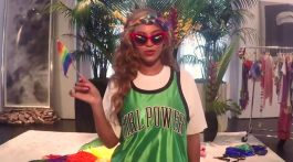 beyonce supports gay marriage and lovewins