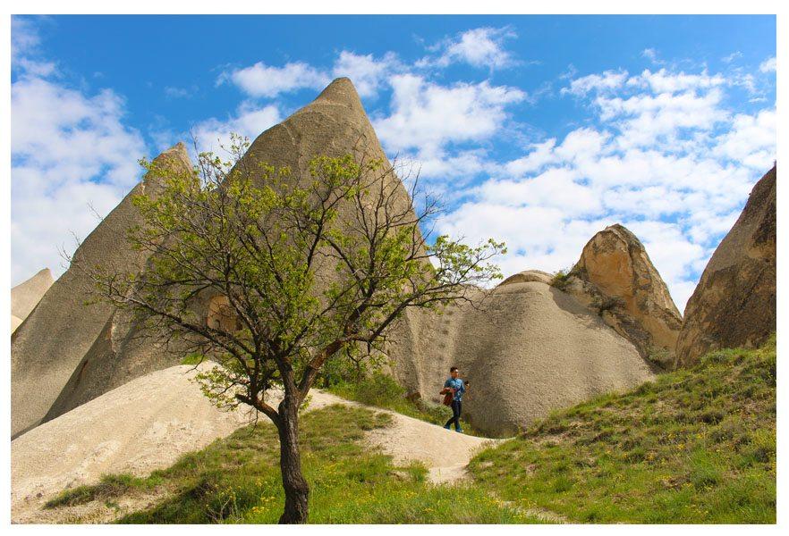 cappadocia turkey rocks trekking