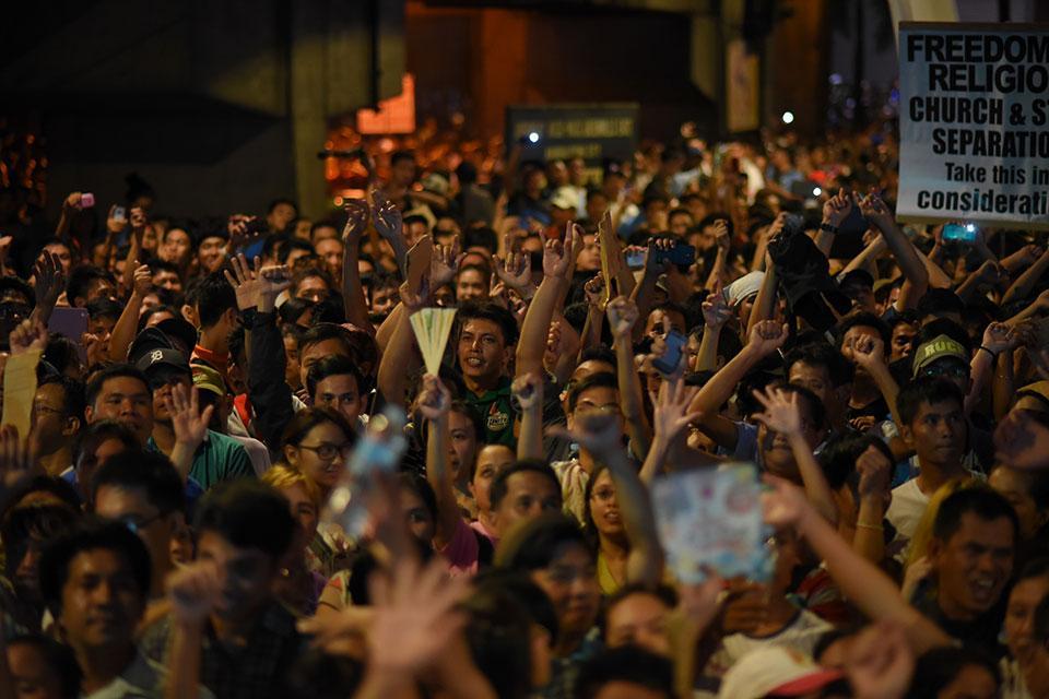 inc iglesia ni cristo rally at edsa