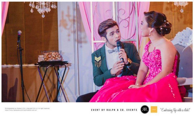 Manila events host party host singer performer Jazper Tiongson Jaz Tiongson corporate events debut product launch wedding host Manila