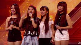 4th Power X Factor UK Gollayan Sisters SHow Me How You Burlesque Christina Aguilera Simon Cowell