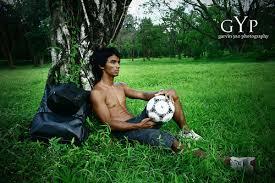 alvin pura shirtless football abscbn host ukg morning show