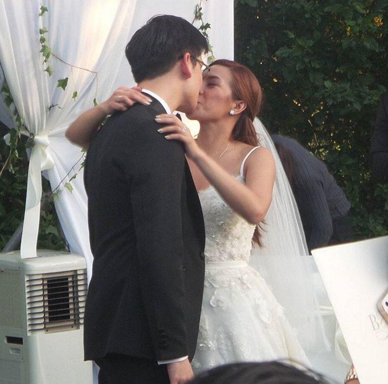 Nikki Gils Wedding.Wedding Photos Of Nikki Gil And Husband Bj Albert Knottinggil