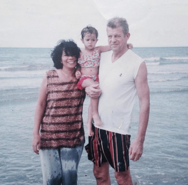 sue ramirez with family baby picture irish filipino actor