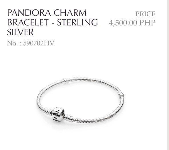 pandora bracelet malaysia price