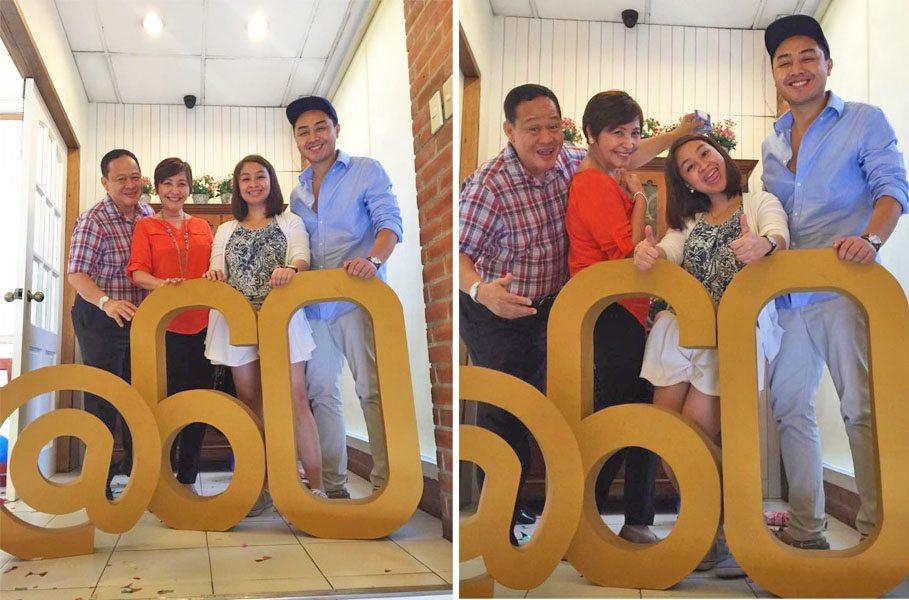 60th birthday party decor senior citizens theme mom and tinas pasig venue