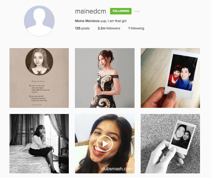 Maine Mendoza mainedcm Instagram Restored From Hacker IT expert Carlo Ople