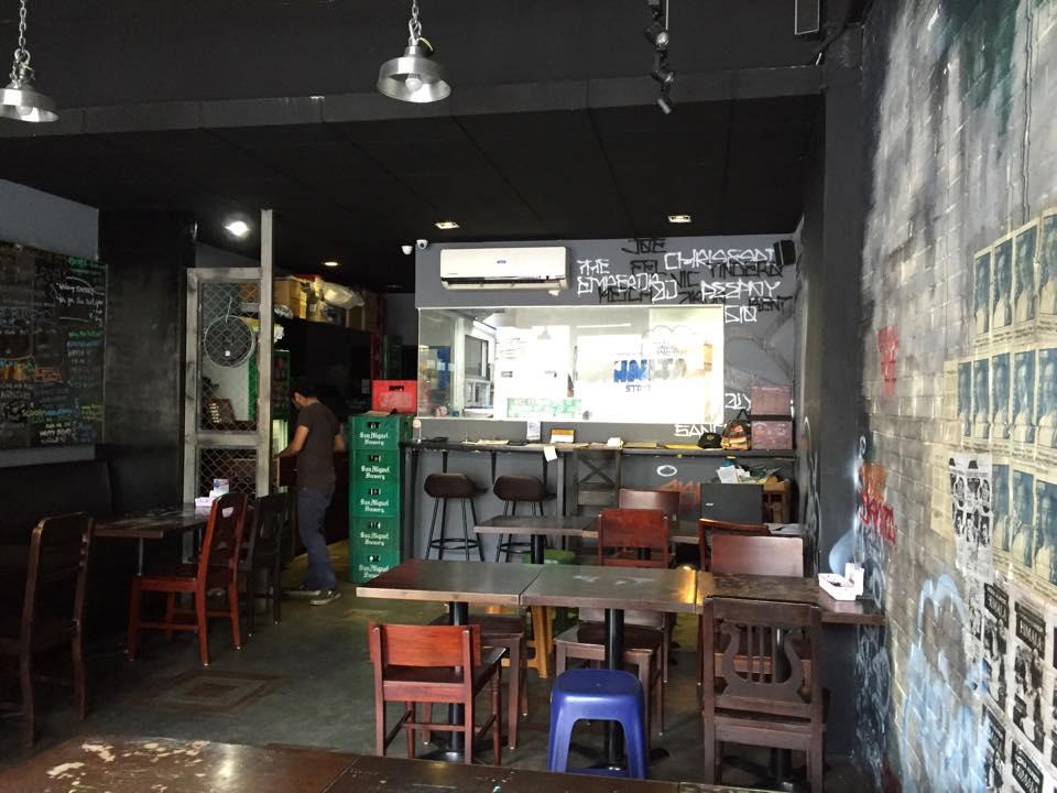 interiors of Sknita Street Foodz in Kapitolyo Pasig