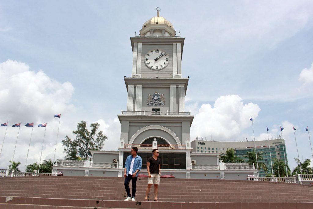 johor bahru clock tower malaysia 2