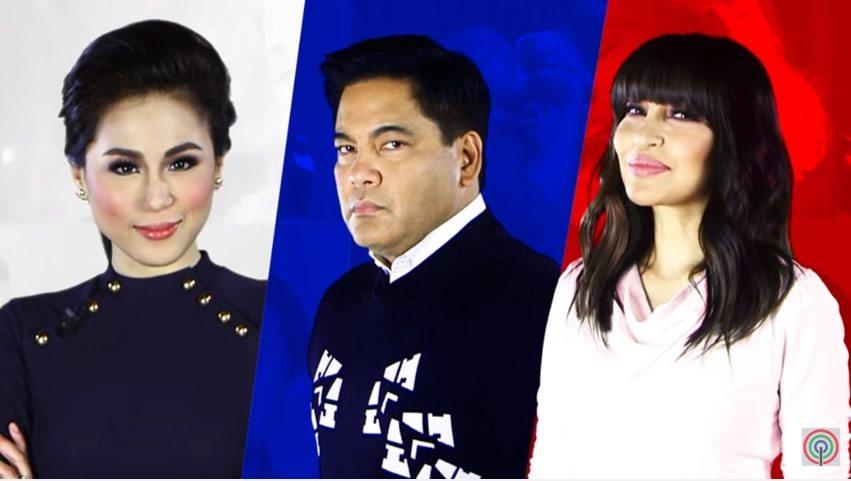 toni gonzaga, martin nievera and lani misalucha as judges of I Love OPM talent search
