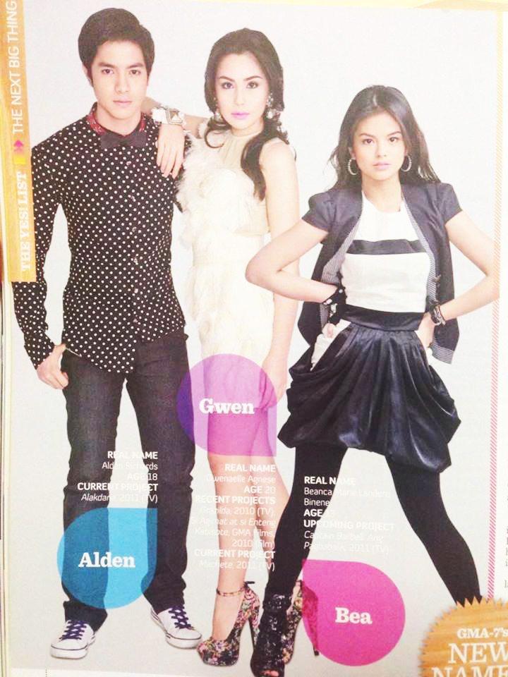 Alden Richards Aldenvasion 2011 yes! magazine next big thing list 2016 phenomenal star ALDUB maine mendoza Tisoy Pambansang Bae 1