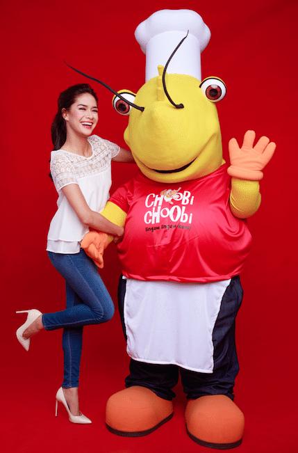 19 Erich Gonzales Endorses Choobi Choobi Seafood Restaurant Endorser Panay Avenue Diliman Quezon City Cebu Seafood