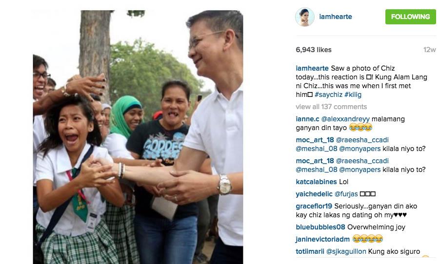 12 Chiz Escudero Concedes Vice-Presidential Race Heart Evangelista Wife Grace Poe tandem