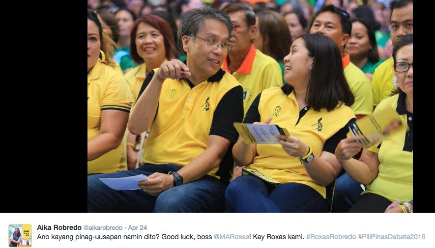 3 Mar Roxas Concedes AIka Robredo Leni Robredo Liberal Party Mar Roxas Concession