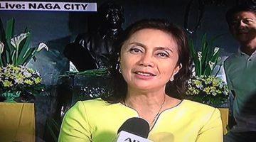 Leni Robredo Wins Vice-President Philippines Canvassing Votes Congress