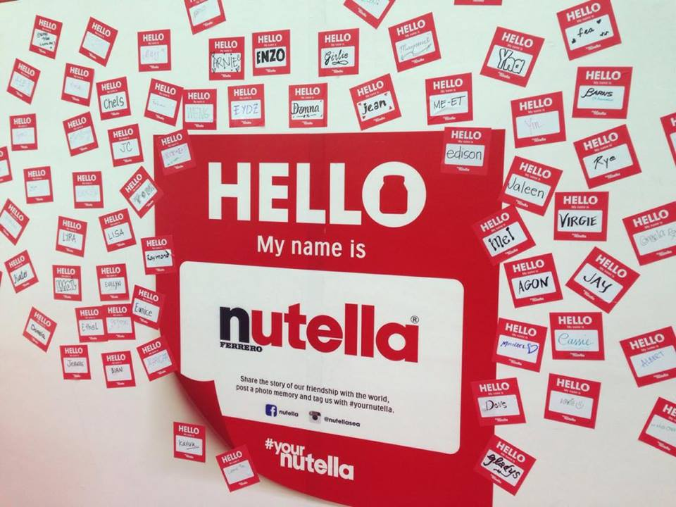 Nutella Philippines New Name Personalized Jars Customize How 2