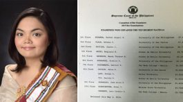 Rachel ANgeli Miranda Bar Topnotcher 2015 Philippine Bar Exam Results UP Law Graduate University of the Philippines Law School