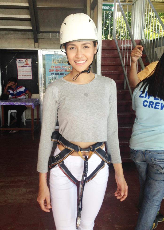 Sanya Lopez Encantandia 2016 Danaya Sky Ranch Date with Danaya Blog Con GMA Network Ziplining