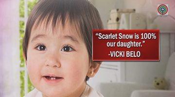 Scarlet Snow Belo Vicki Belo Hayden Kho Surrogate Mother IVF in vitro fertilization
