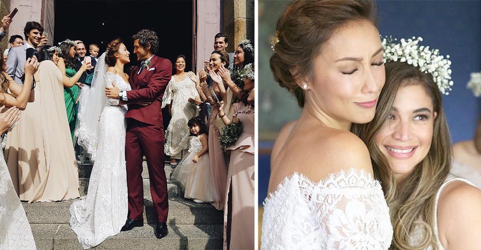 Solenn Heussaff Wedding Nico Bolzico Combourg France Isabelle Daza Liz Uy Anne Curtis