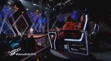 sharon cuneta chair turned 360 on the voice kids philippines
