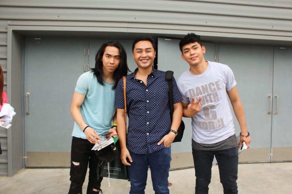 gforce ram julianda and ishii at max pavillion for jadine in love singapore concert