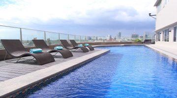 pool at acacia hotel manila alabang best hotel in manila