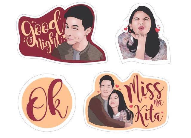 Download Viber stickers Aldub Alden Richards Maine Mendoza Imagine You and me Viber stickers Italian Andrew Gara