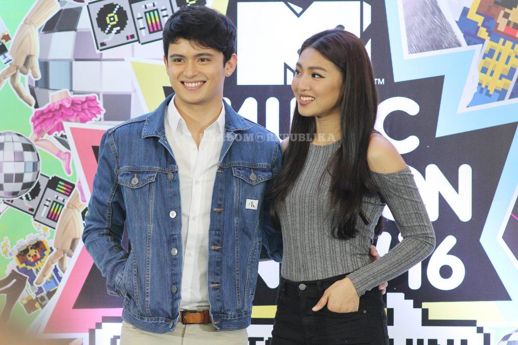 MTV Music Evolution Manila 2016 MTV Asia MTV Music Evo JaDine James Reid Nadine Lustre 8 copy