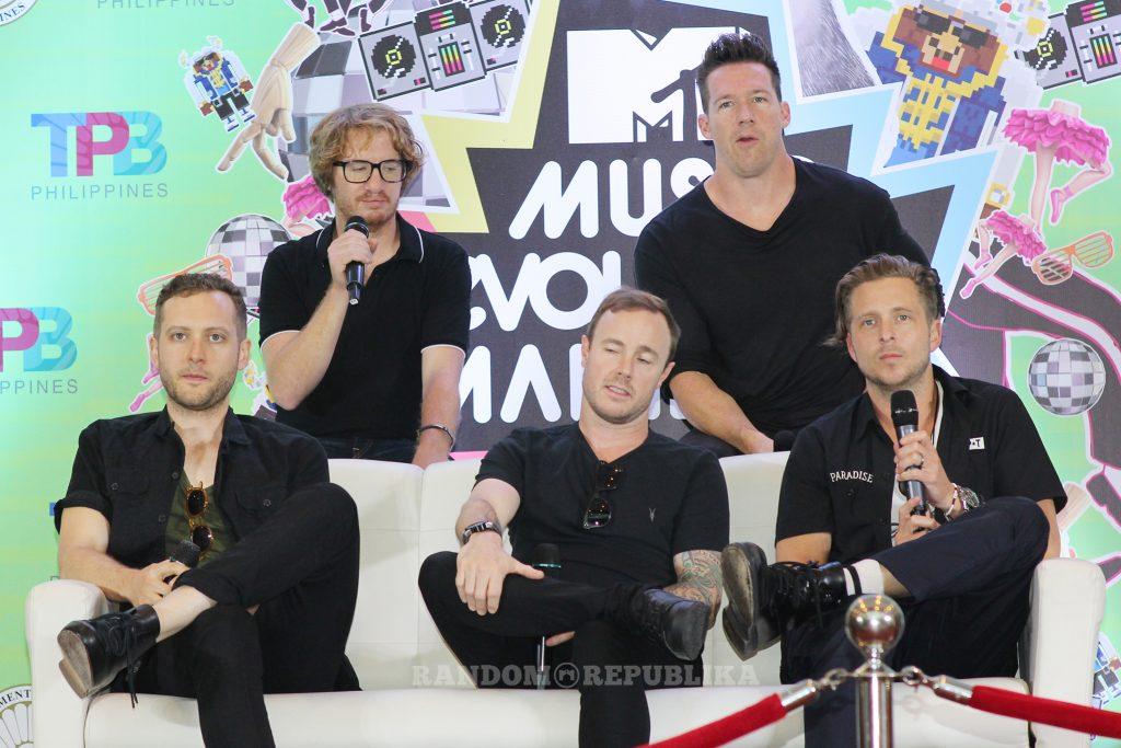 MTV Music Evolution Manila 2016 MTV Asia MTV Music Evo One Republic 2 copy